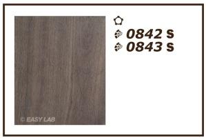 0842 and 0843 on European Oak