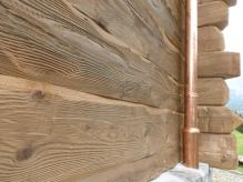 Italian Chalet Wood Siding 2 Cognac