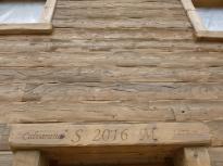 Italian Chalet Wood Siding Cognac
