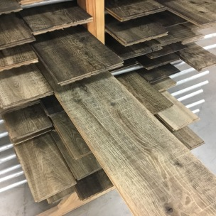 Weathered Gray Boards by Oxidation